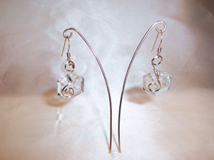 Antique Chandelier Crystal Earrings